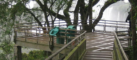 cataratas del iguazu, paseo inferior, turismo misiones