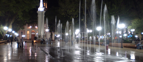 plaza 9 de julio, misiones posadas